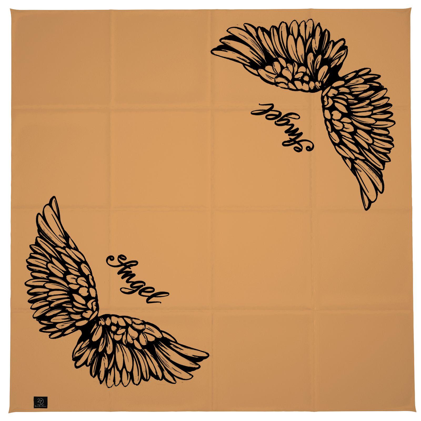 روسری زنانه 27 طرح angel کد H08 -  - 8