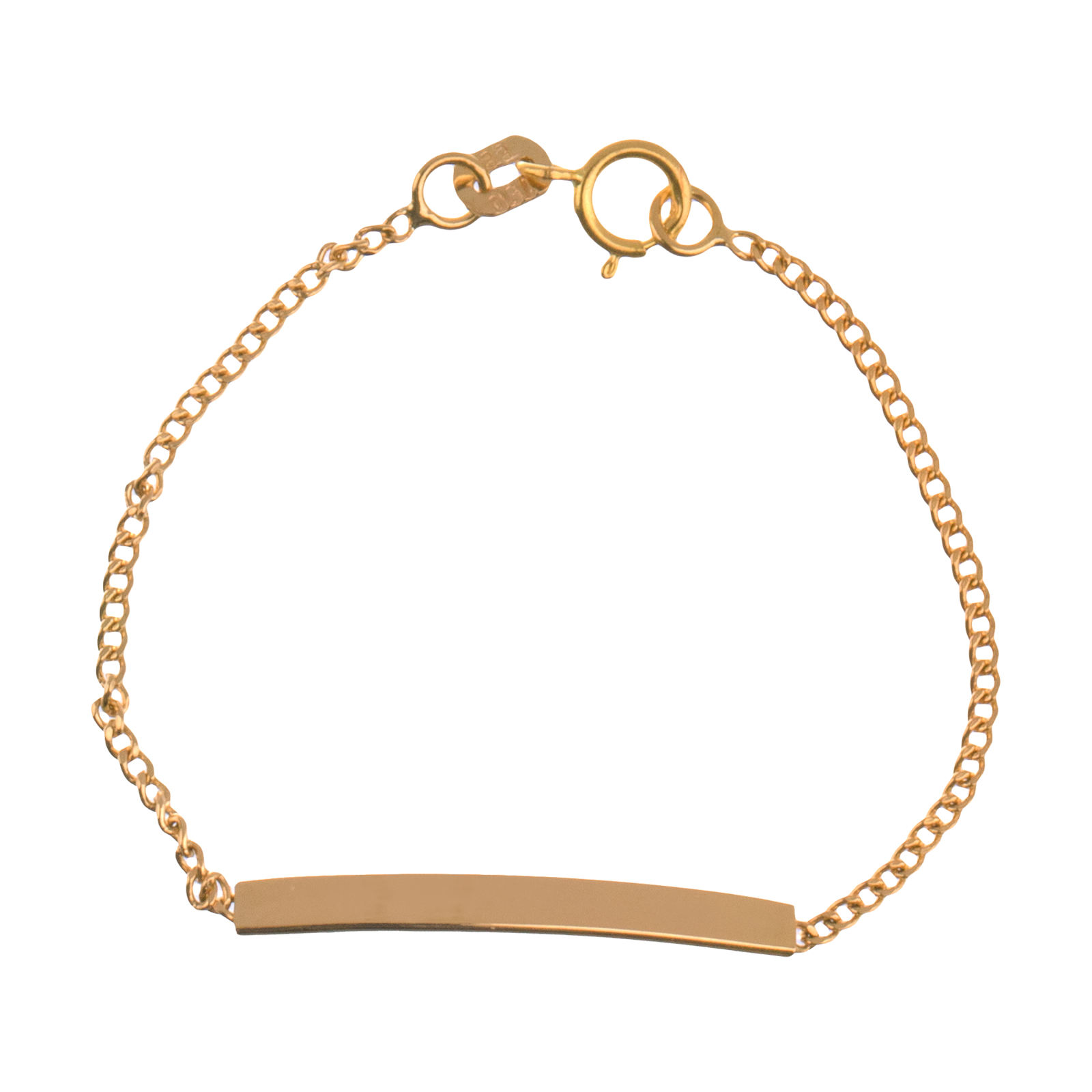 دستبند طلا 18 عیار دخترانه مایا ماهک مدل MB1050 -  - 2
