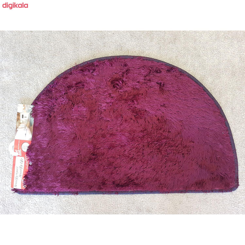 پادری رو آذین طرح نیم دایره سایز 47x75 سانتی متر main 1 2