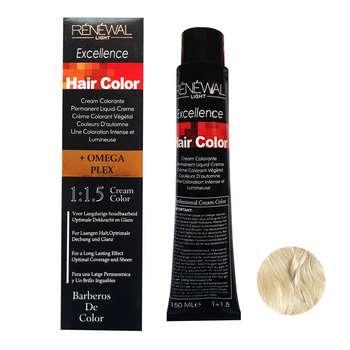 رنگ مو رنوال شماره 10.1 حجم 150 میلی لیتر رنگ بلوند دودی پلاتینه