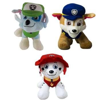 عروسک طرح سگ های نگهبان مجموعه 3 عددی