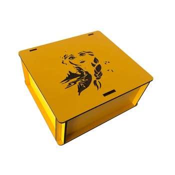 جعبه هدیه چوبی مدل j154
