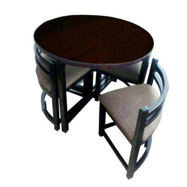 میز و صندلی ناهارخوری 4 نفره مدل Ti-CH-005