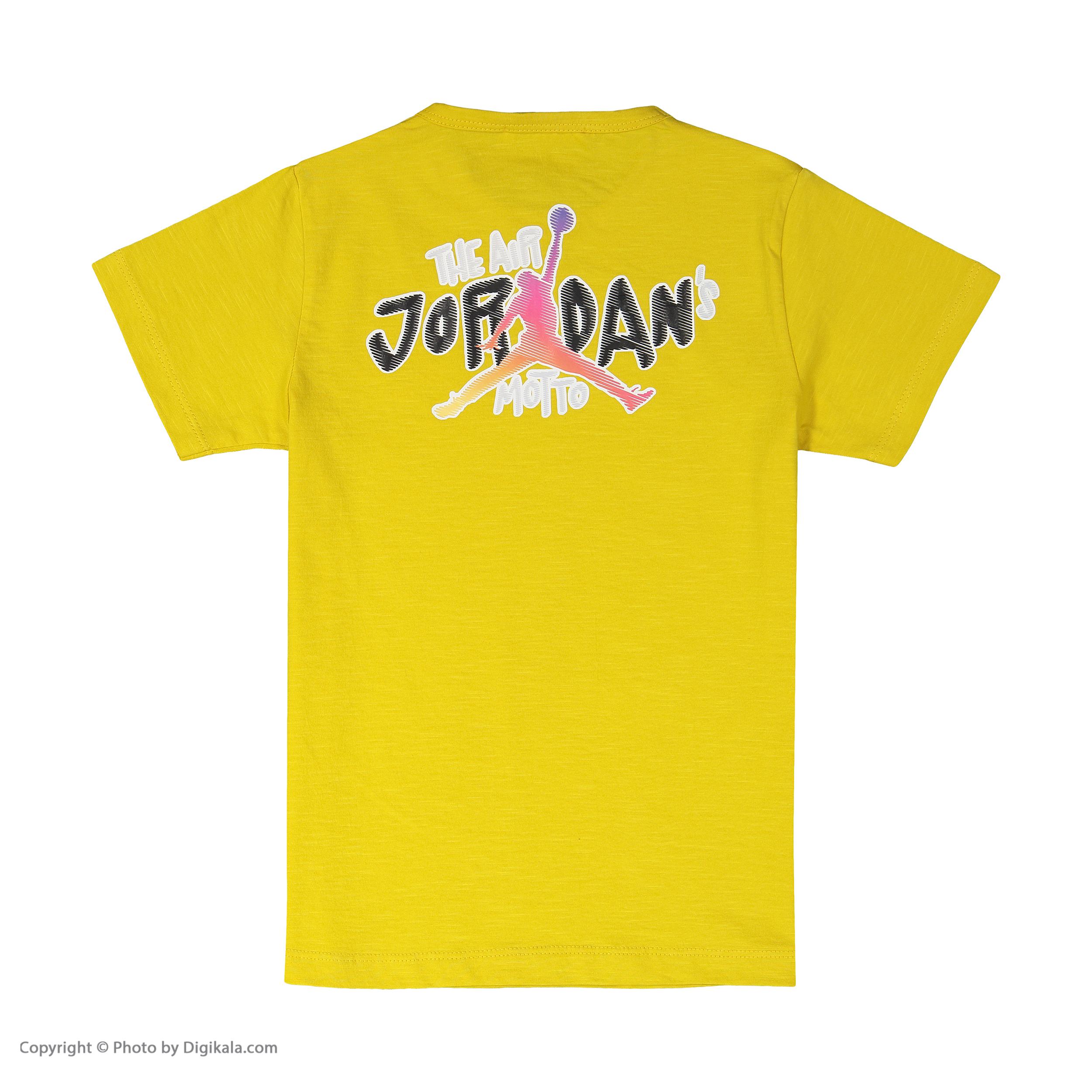 تی شرت پسرانه بی کی مدل 2211120-16