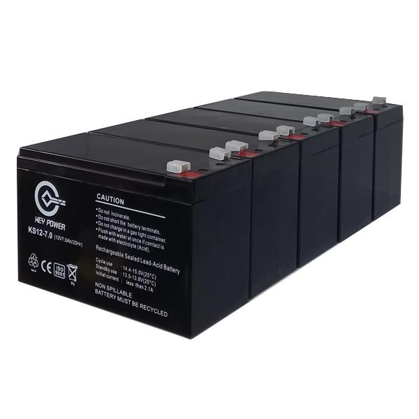 باتری یو پی اس 12ولت7 آمپر کی پاور  مدل GEL7-12 بسته 5 عددی