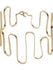دستبند طلا زنانه سنجاق مدل x089886 -  - 1