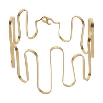 دستبند طلا زنانه سنجاق مدل x089886