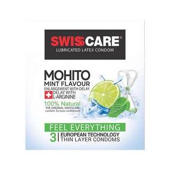 کاندوم سوئیس کر مدل MOHITO بسته 3 عددی