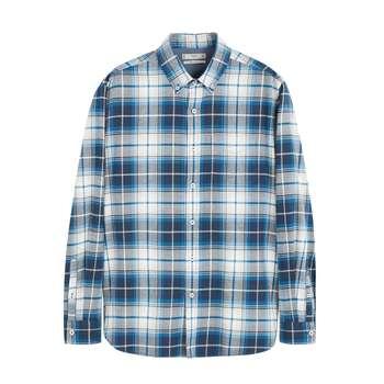 پیراهن آستین بلند مردانه مانگو مدل DN508PAD