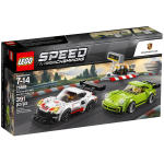 لگو سری Speed مدل Porsche 911 RSR and 911 Turbo 75888