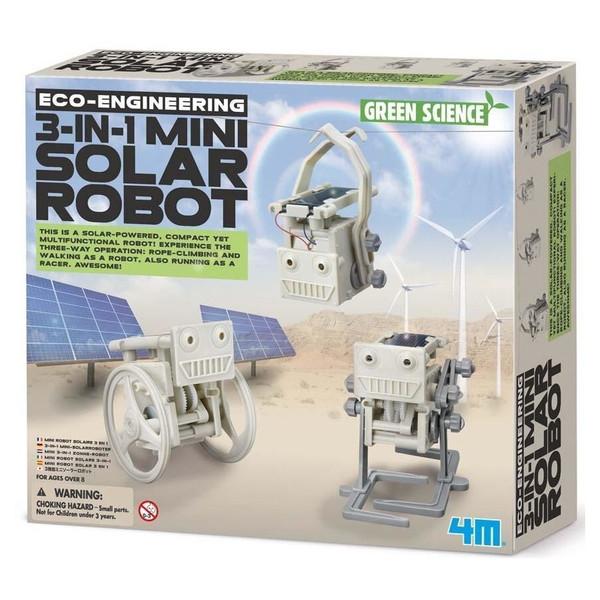 کیت آموزشی 4ام مدل مینی روبات خورشیدی کد 3377