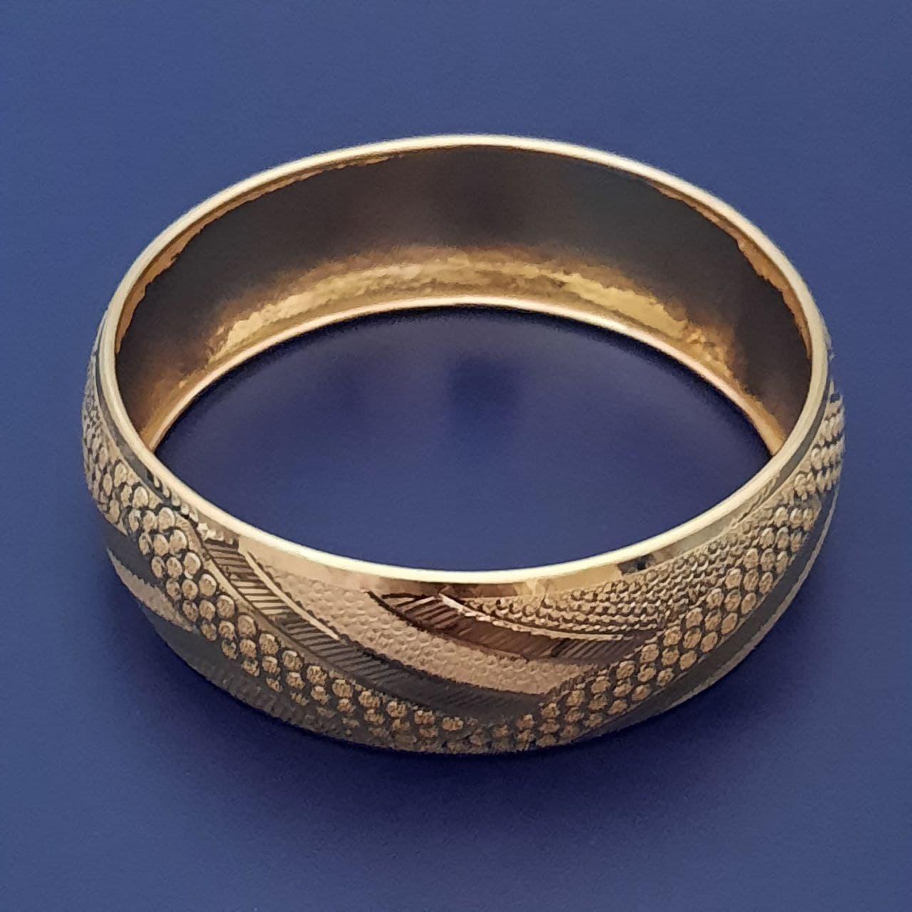 النگو طلا 18 عیار زنانه گالری یارطلا کد AL67-G-4