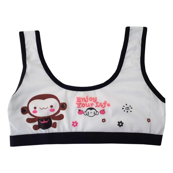 نیم تنه دخترانه طرح میمون کد 15
