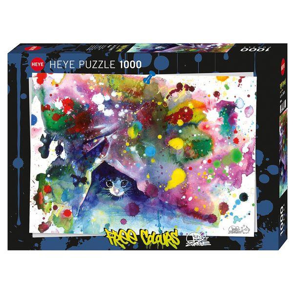 پازل 1000 تکه هه یه مدل Free Colours کد 144094