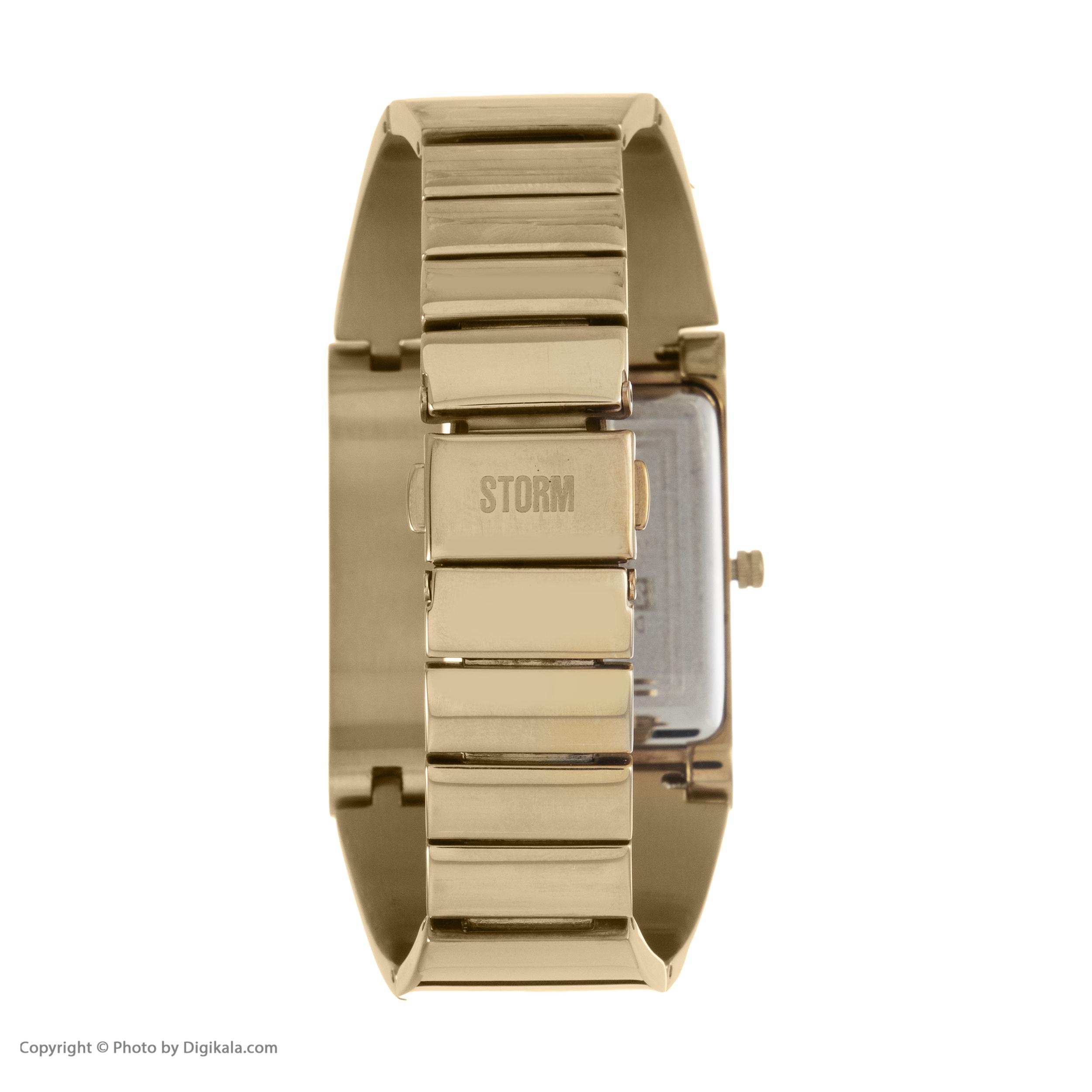 ساعت مچی عقربه ای زنانه استورم مدل ST 47162-GD -  - 6
