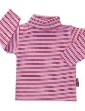 تی شرت دخترانه آدمک طرح راه راه کد 7-1444011 -  - 1