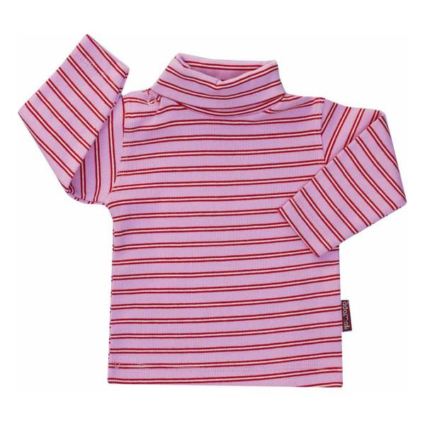 تی شرت دخترانه آدمک طرح راه راه کد 7-1444011