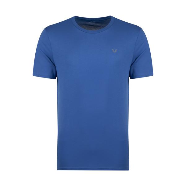 تیشرت آستین کوتاه ورزشی مردانه بیلسی کد 8766 رنگ آبی