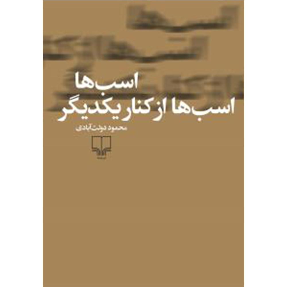 کتاب اسب ها اسب ها از کنار یکدیگر اثر محمود دولت آبادی نشر چشمه