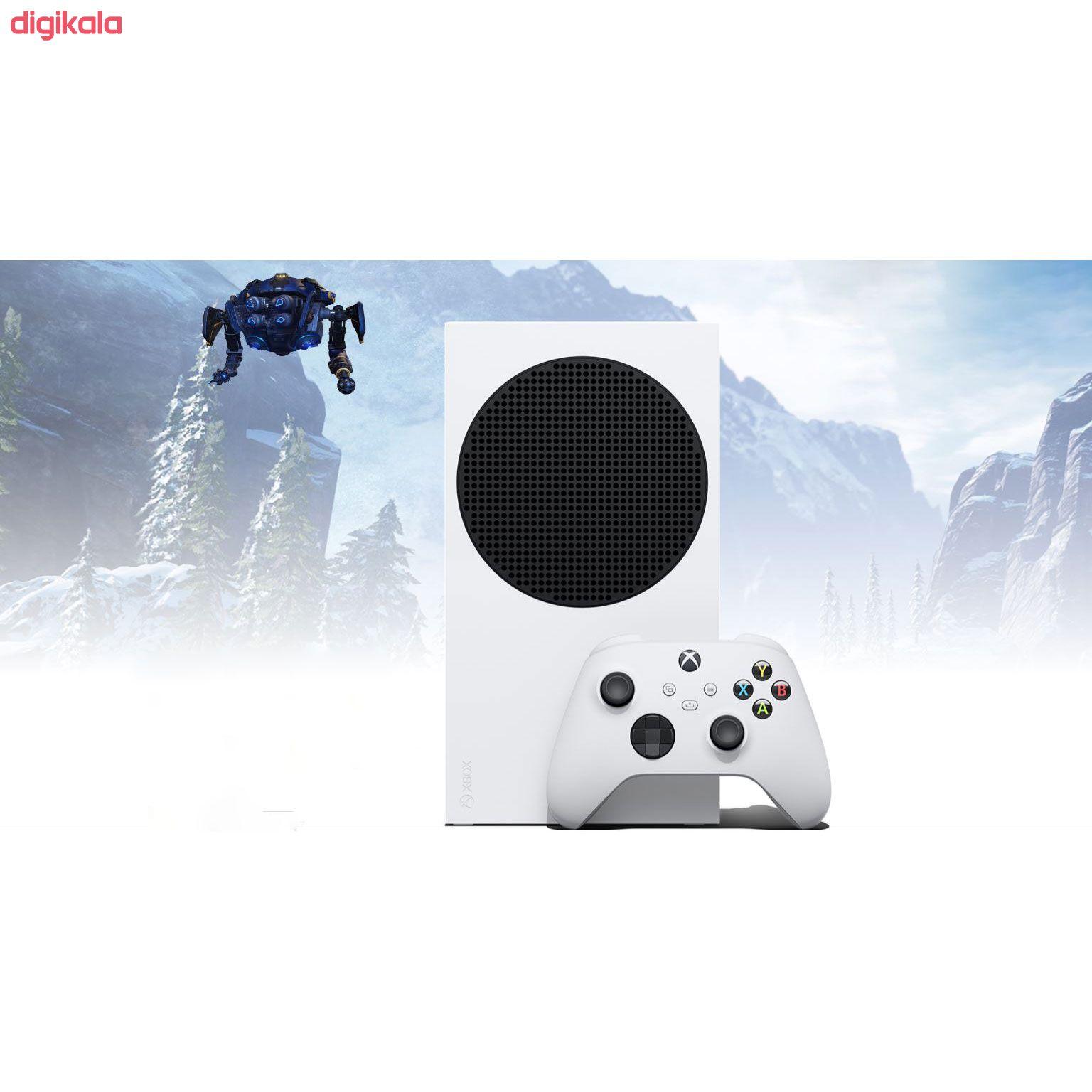 کنسول بازی مایکروسافت مدل XBOX SERIES S ظرفیت 512 گیگابایت main 1 16