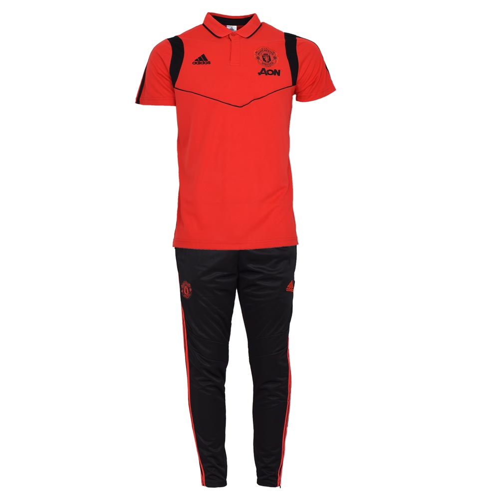 تصویر ست تیشرت و شلوار ورزشی مردانه طرح آرسنال کد 1100