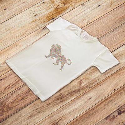 تی شرت آستین کوتاه مردانه زیزیپ مدل شیر شاه کد 2039T