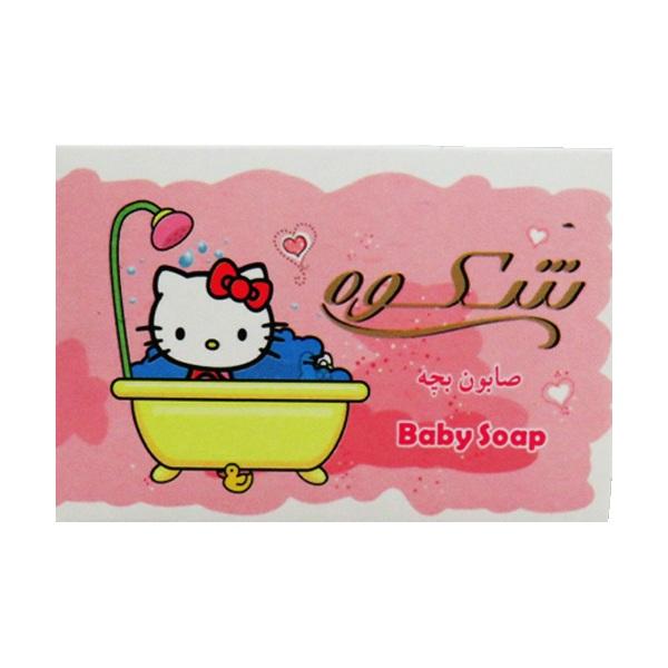 صابون بچه شکوه مدل Kitty وزن 75 گرم