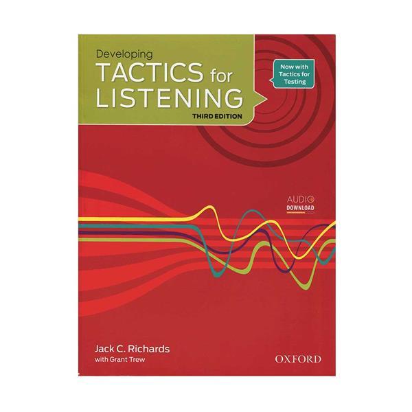 کتاب Tactics for Listening 3rd Developing اثر Jack C. Richards انتشارات اکسفورد