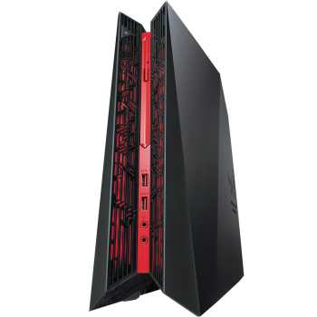 تصویر کامپیوتر دسکتاپ مخصوص بازی ایسوس مدل ROG G20AJ BH005S Asus ROG G20AJ BH005S Gaming Desktop Computer
