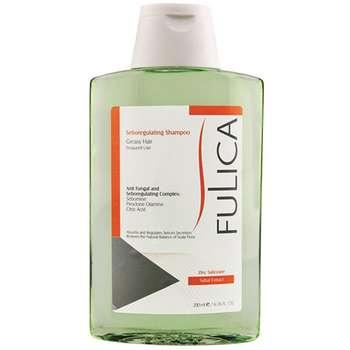 شامپو کاهش دهنده چربی فولیکا مخصوص موهای چرب حجم 200 میلی لیتر
