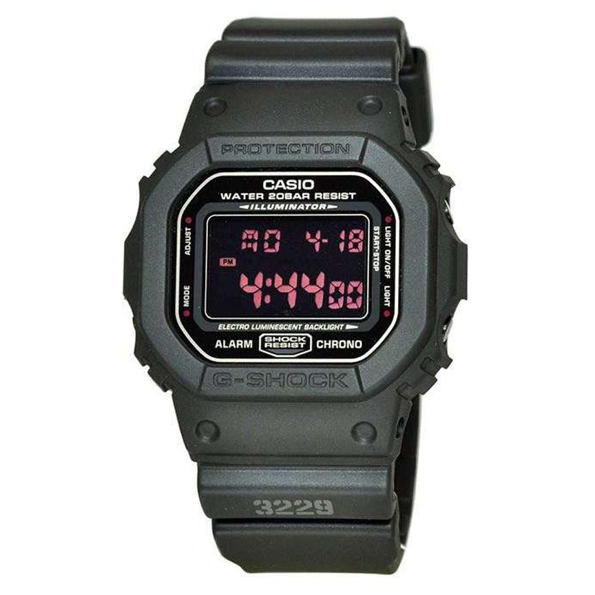 ساعت مچی دیجیتال مردانه کاسیو مدل جی شاک کد DW-5600MS-1              👙