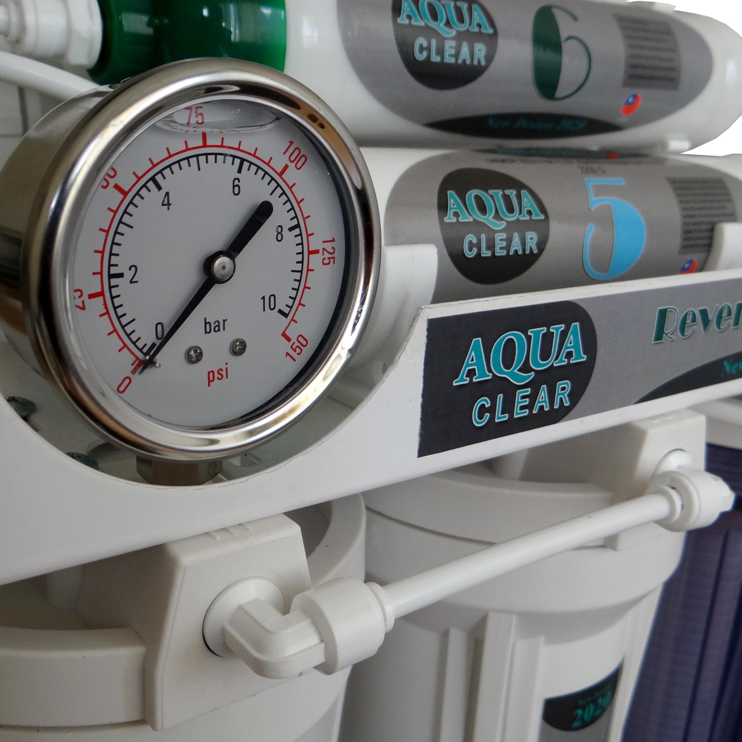 دستگاه تصفیه کننده آب آکوآ کلیر مدل NEW DESIGN2020 - AQN9 به همراه فیلتر مدل 02 مجموعه 3 عددی و کیت نشتی گیر