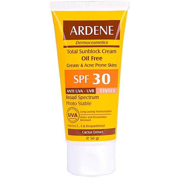 قیمت کرم ضد آفتاب رنگی آردن SPF30