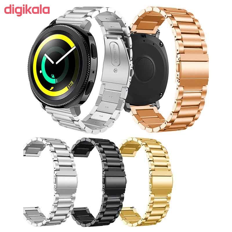 بند مدل Dk-03 مناسب برای ساعت هوشمند سامسونگ Gear S4 Classic / Gear Sport / Galaxy Watch 42mm main 1 2