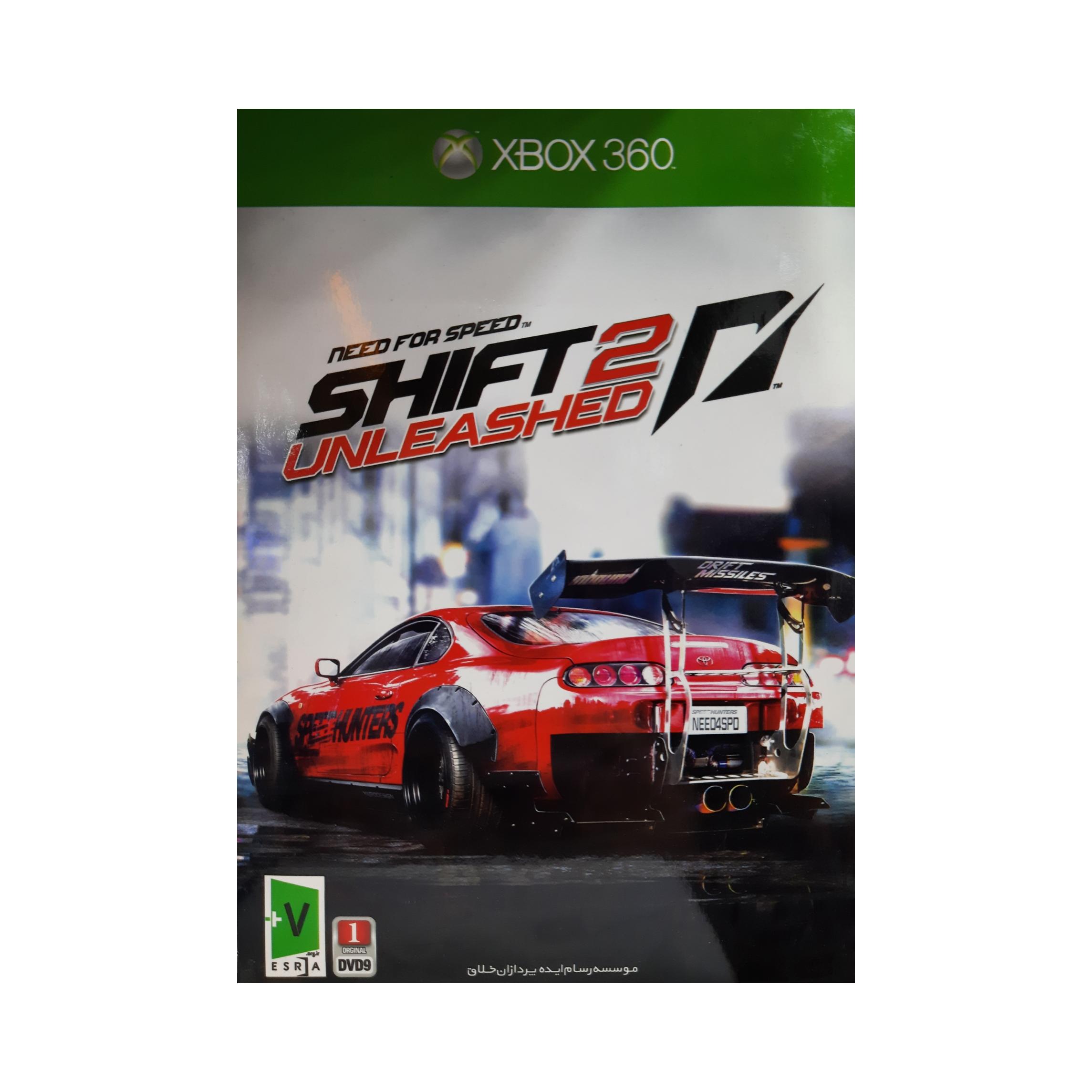 بازی shift 2 مخصوص xbox 360