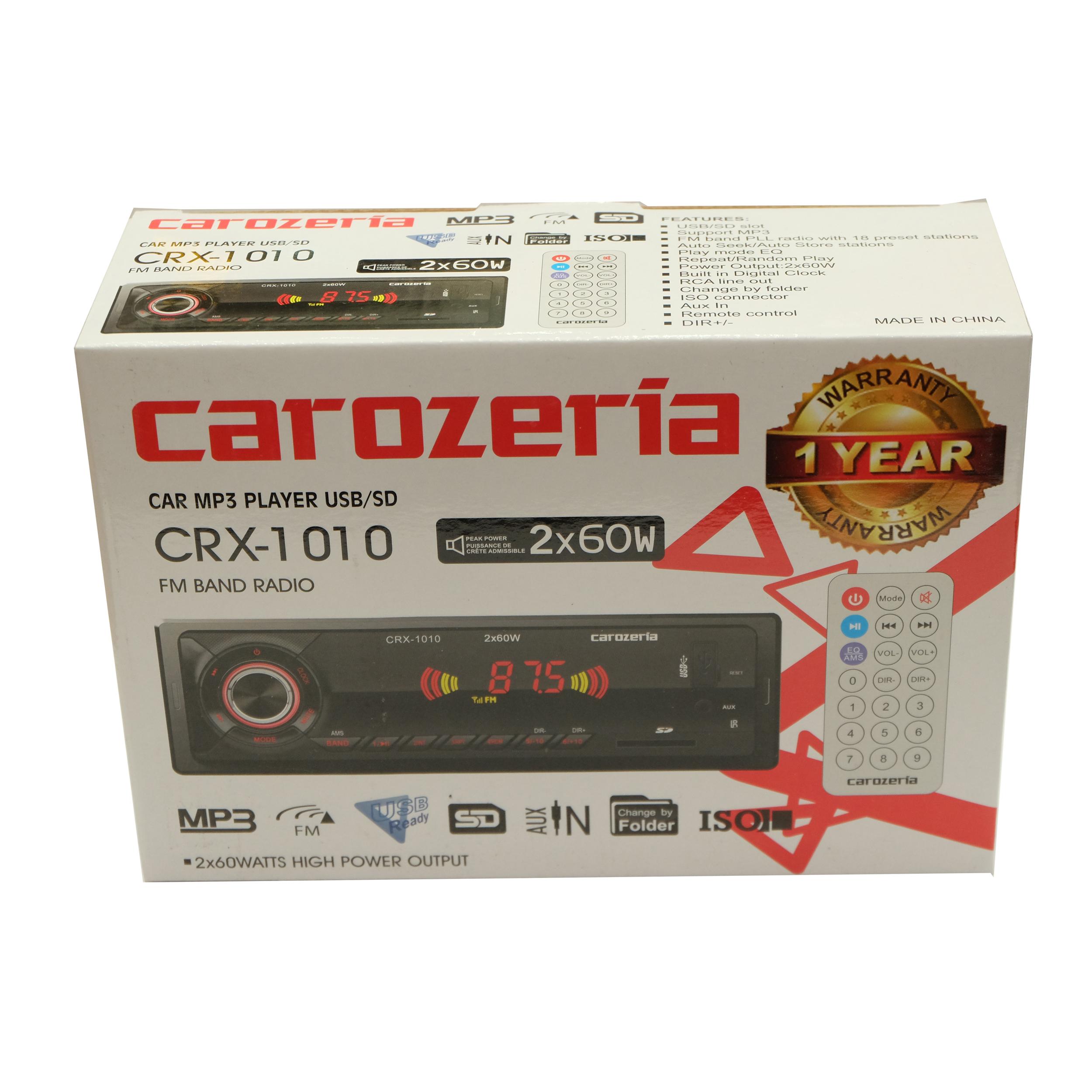 پخش کننده خودرو کاروزریا مدل CRX-1010