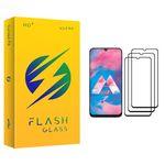 محافظ صفحه نمایش فلش مدل +HD مناسب برای گوشی موبایل سامسونگ Galaxy M30 بسته سه عددی