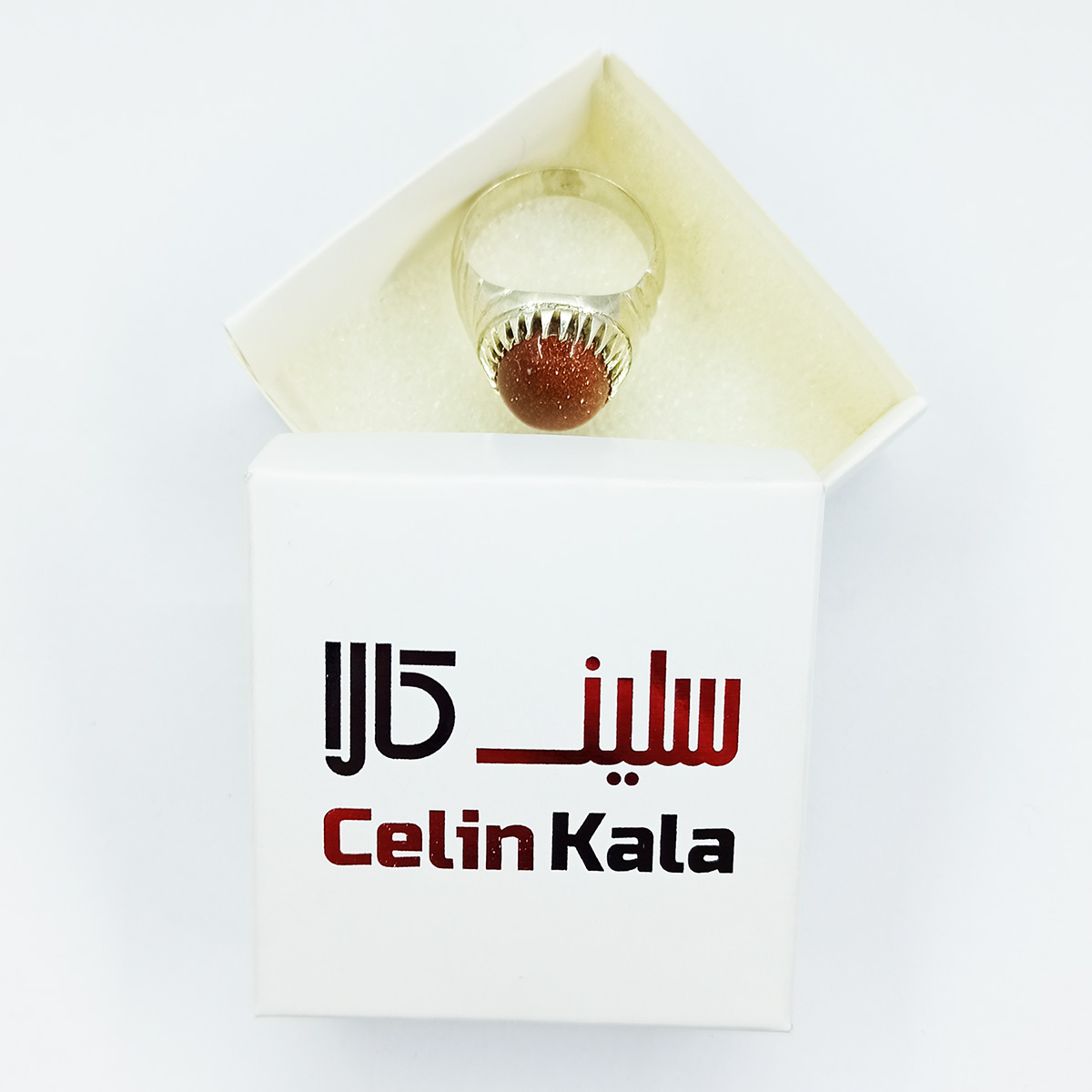 انگشتر نقره مردانه سلین کالا مدل دلربا ce-As3