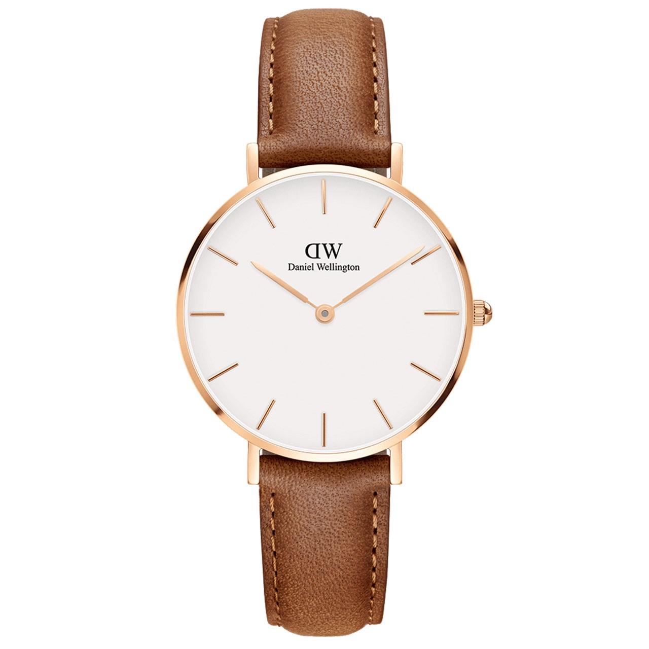 ساعت مچی عقربه ای زنانه دنیل ولینگتون مدل DW00100172              خرید (⭐️⭐️⭐️)