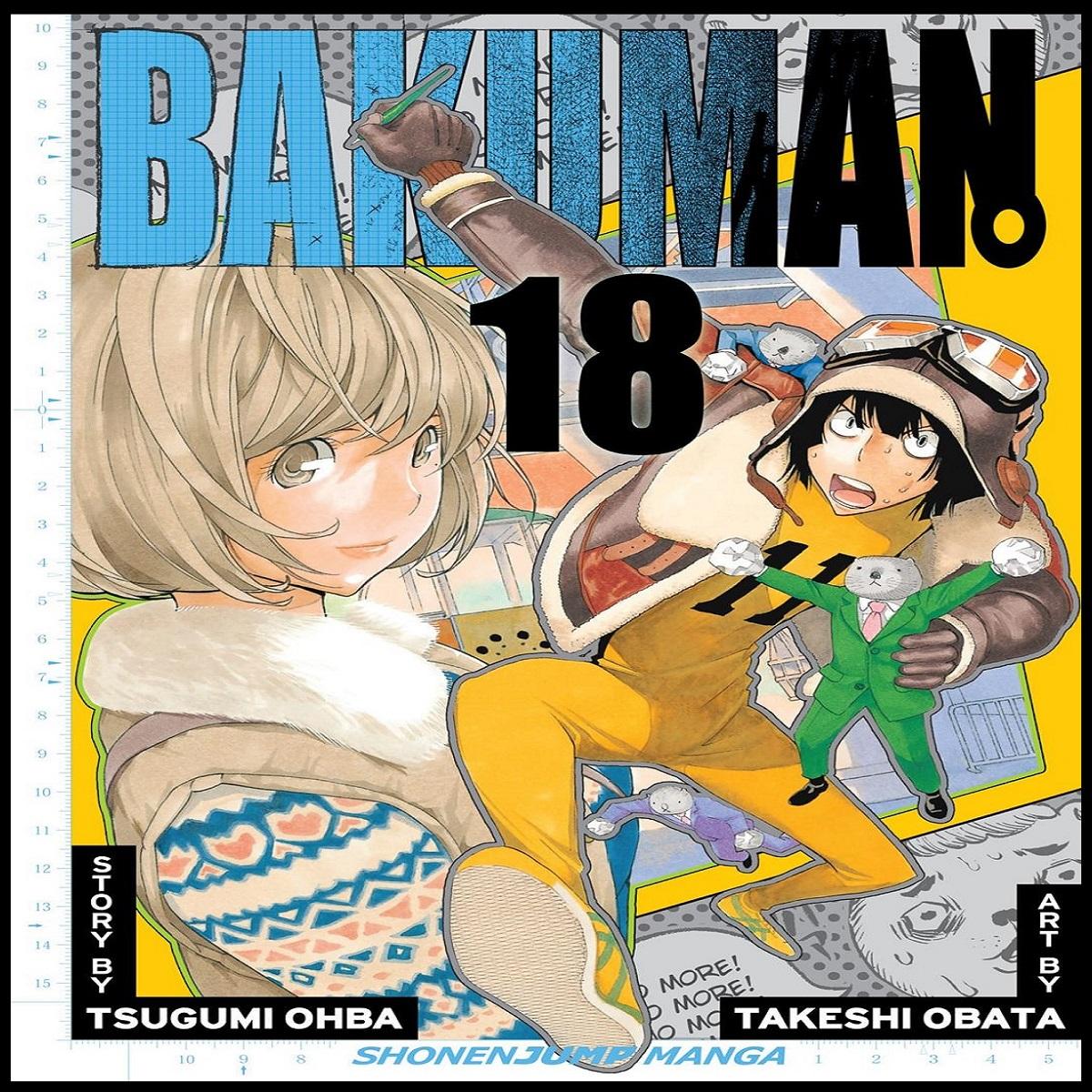 مجله Bakuman 18 مارچ 2013