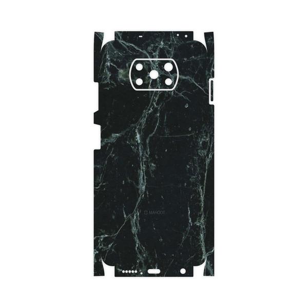 برچسب پوششی ماهوت مدل Graphite-Green-Marble-FullSkin مناسب برای گوشی موبایل شیائومی Poco X3 NFC