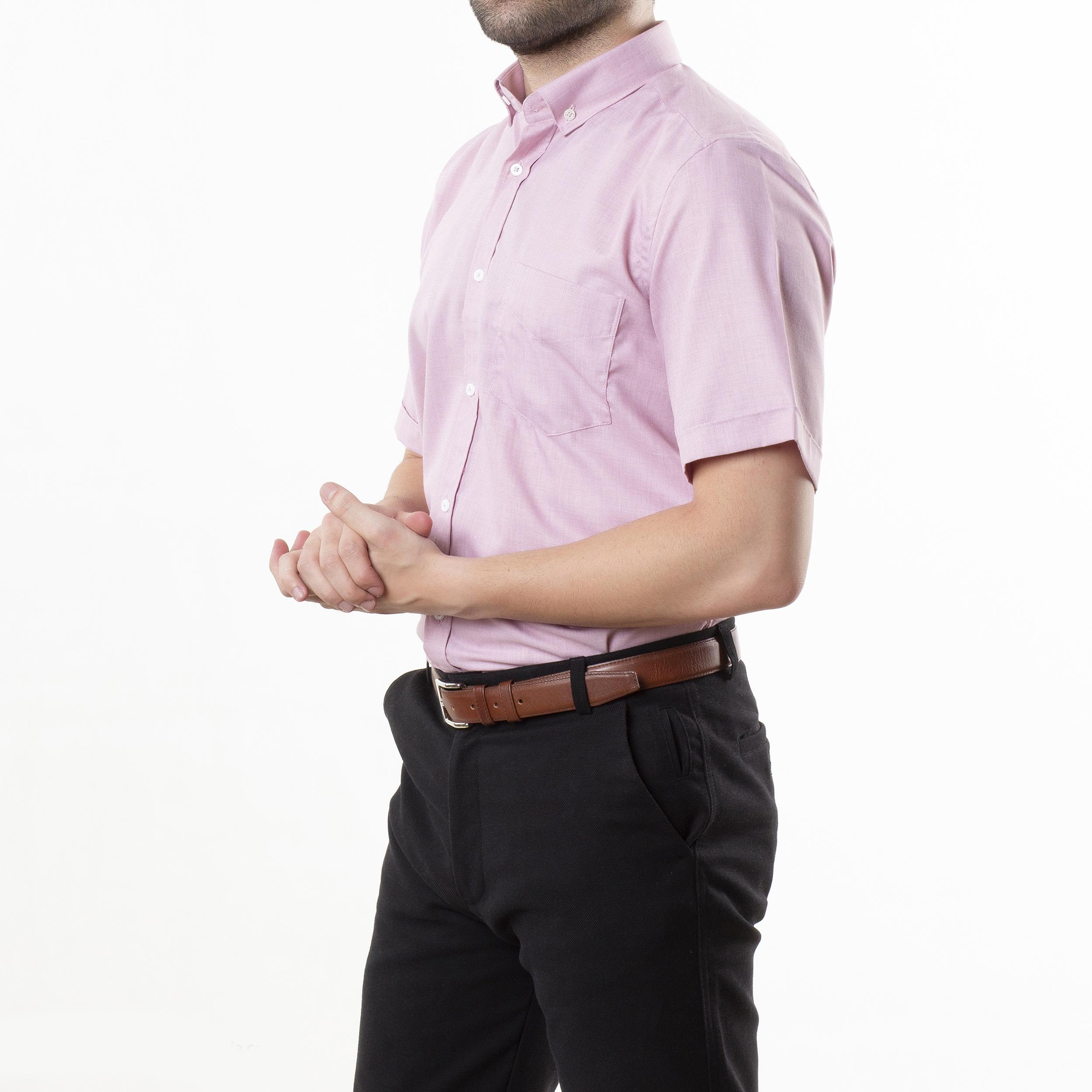 پیراهن آستین کوتاه مردانه زی مدل 1531406ML84