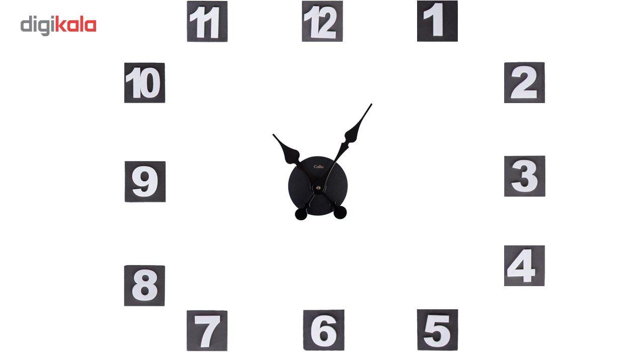 ساعت دیواری کیمیت مدل Cubo BLW main 1 7