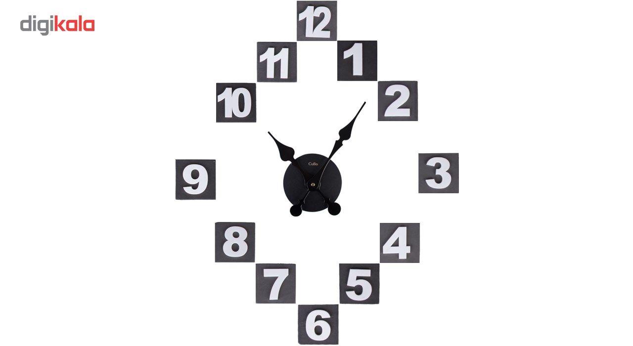 ساعت دیواری کیمیت مدل Cubo BLW main 1 8