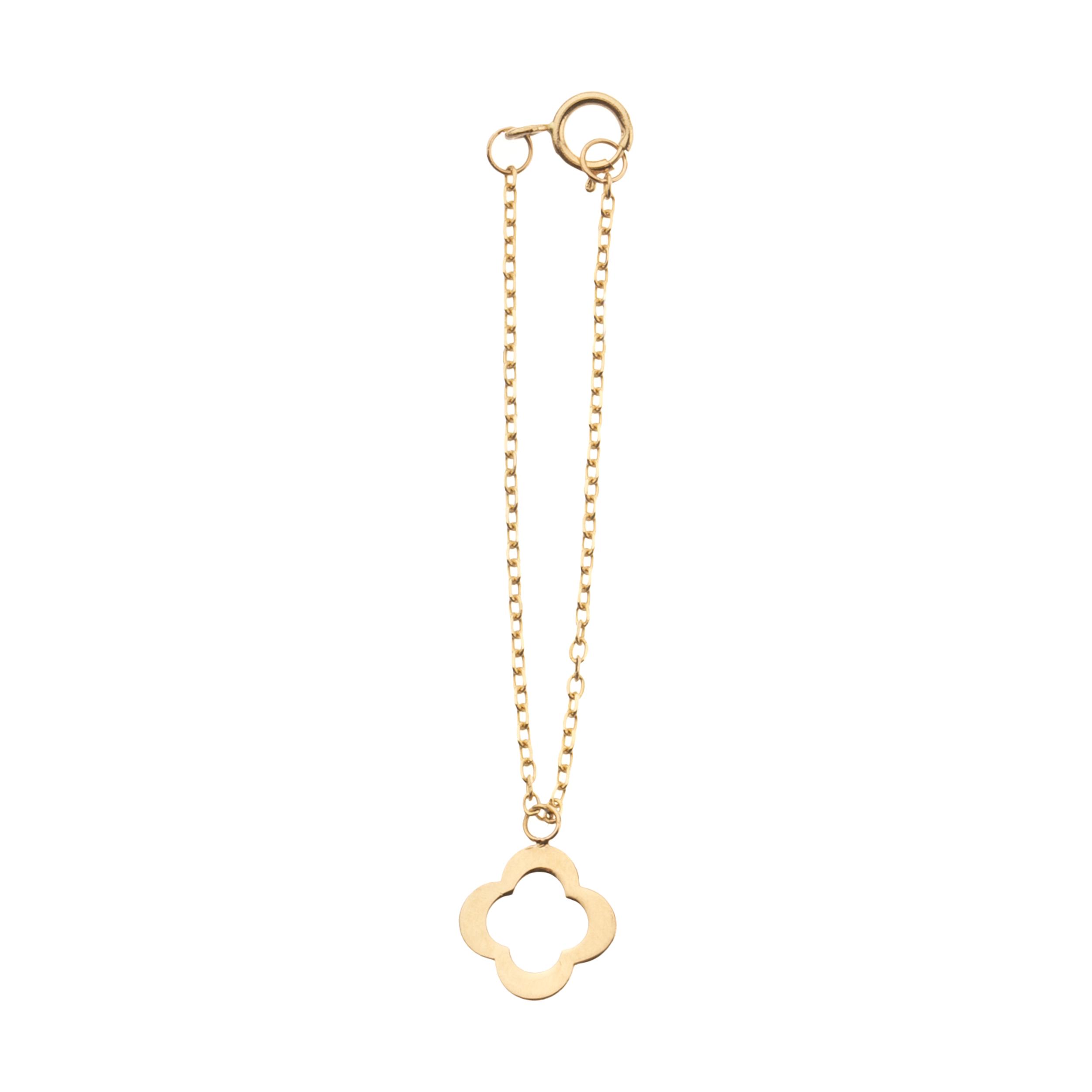 آویز ساعت طلا 18 عیار زنانه ناتروسا مدل NG204