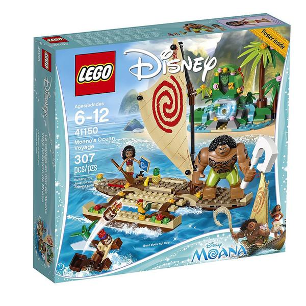 لگو سری Disney Princess  مدل Moanas Ocean Voyage 41150