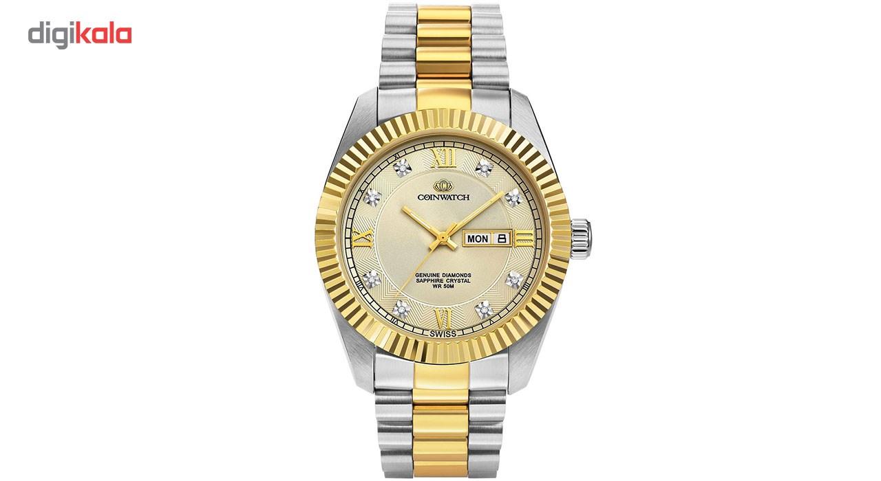 خرید ساعت مچی عقربه ای مردانه کوین واچ مدل C129TCM