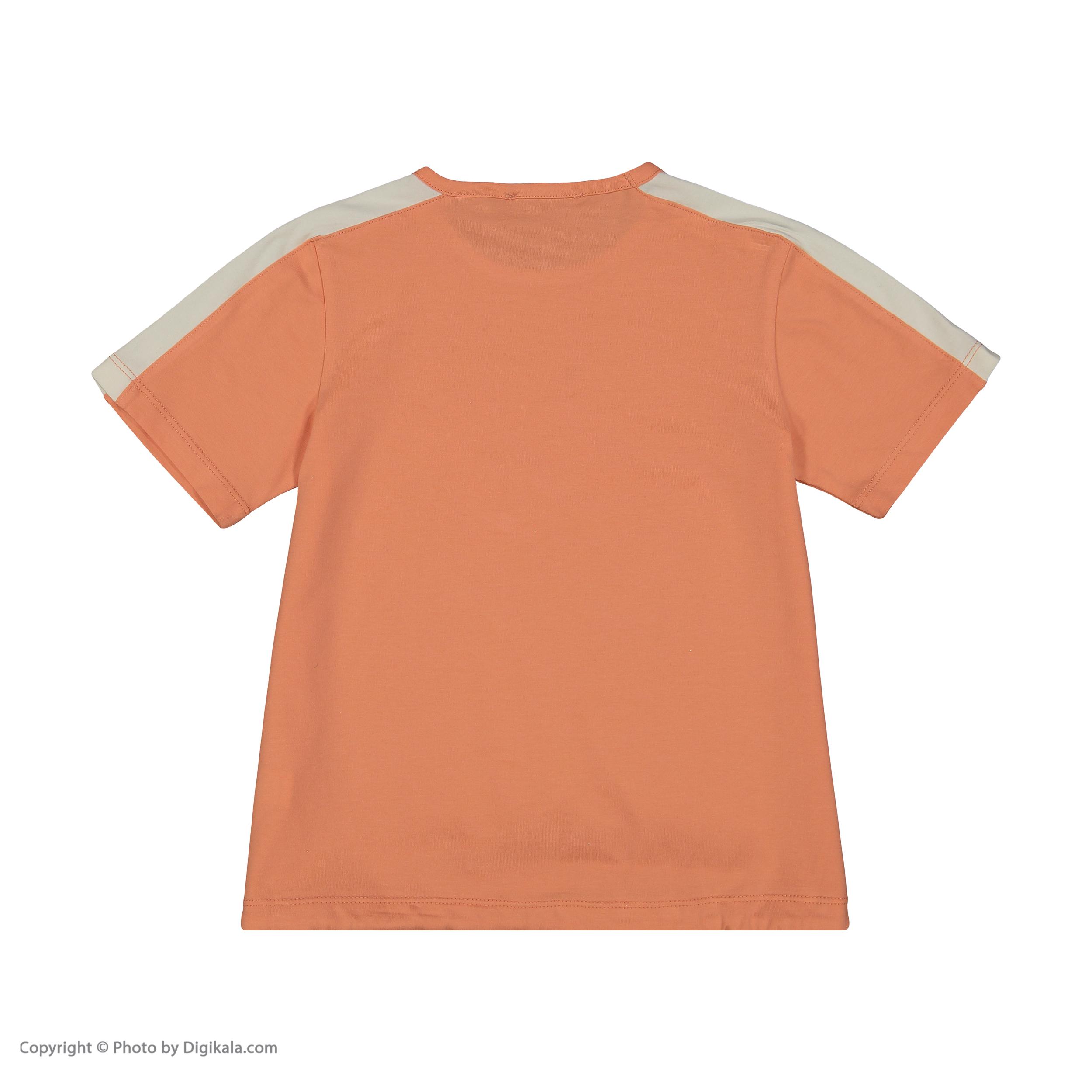 تی شرت دخترانه پیانو مدل 1836-23 -  - 4