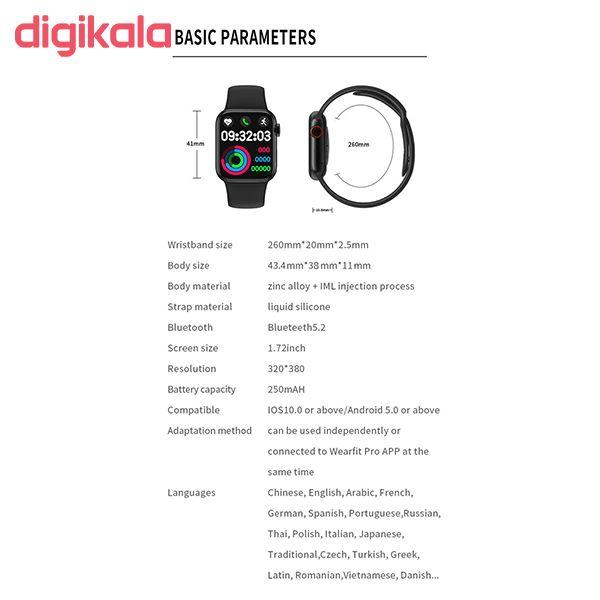 ساعت هوشمند مدل HW16 main 1 23