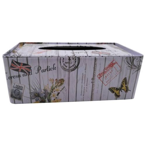 جعبه فلزی  دستمال کاغذی اچ اف کد 69